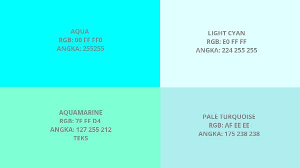 Penjelasan Mengenai Arti Warna Biru Beserta Kode RGB Dan Angkanya